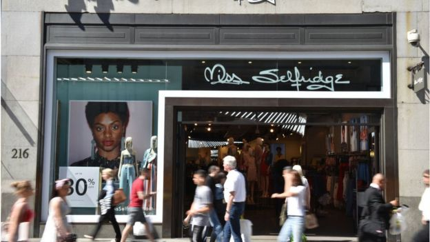 Miss Selfridge on Oxford Street