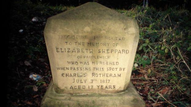 Elizabeth Sheppard murder stone