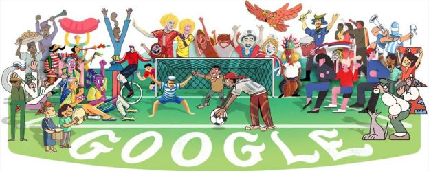 بوقچی و طبلزن ایرانی طرح راشین خیریه در صفحه اول گوگل