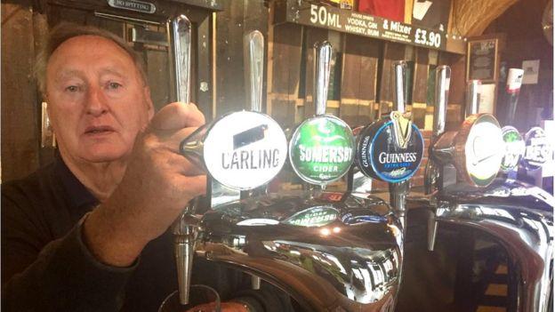 Tom Ponton, owner of Oz Bar