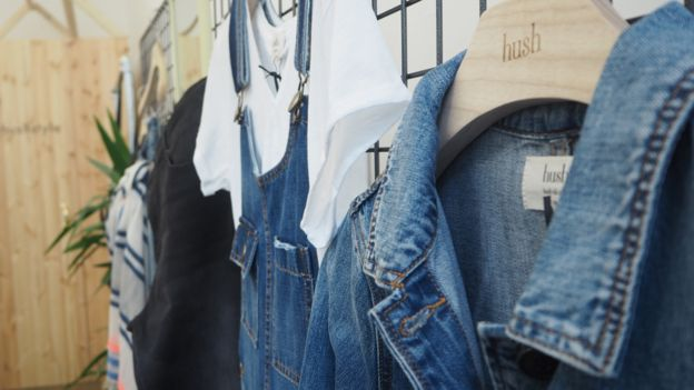 c0e591630675 The husband and wife behind fashion label Hush - BBC News