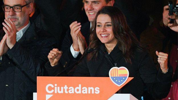 Ines Arrimadas of Citizens