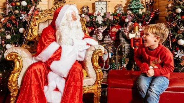 santa tickets christmas eve sold out in 10 minutes bbc news