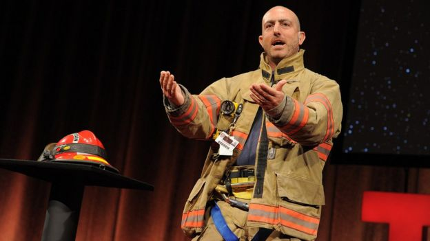 Mark Bezos the fire fighter