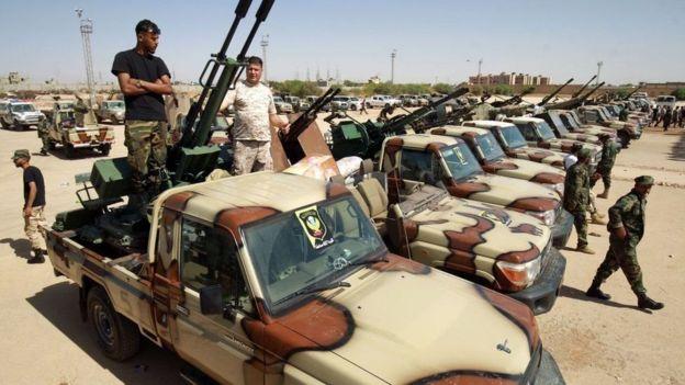 قوات تابعة لحفتر