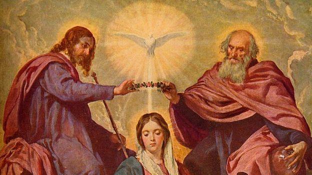 'La Coronacion De La Virgen', 1635-1648, (C1934)
