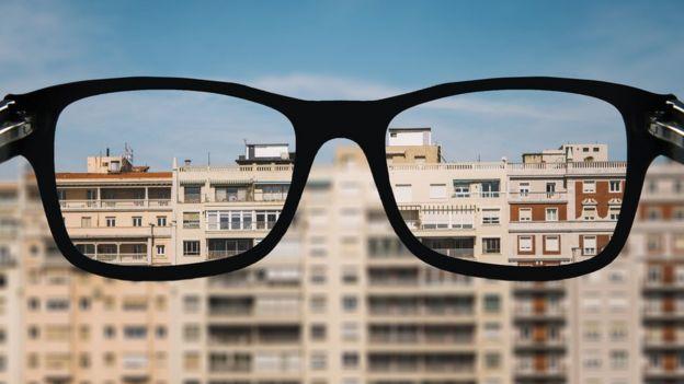 Gafas correctoras para la miopía