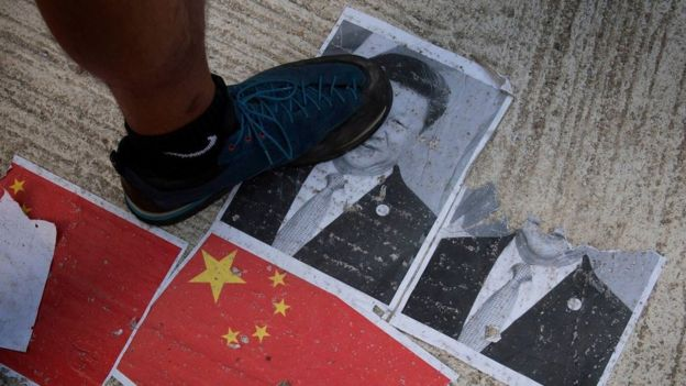 China, protests