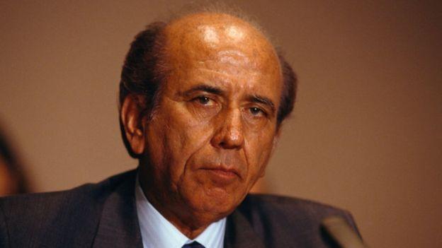Carlos Andrés Pérez, expresidente de Venezuela.