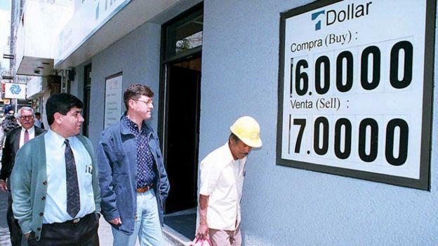 1995 yılınd Dolar/Meksika pesosu kuru
