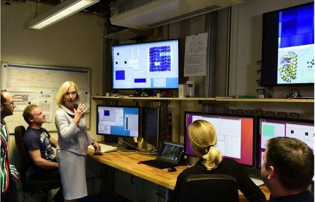 German Education and Research Minister Johanna Wanka