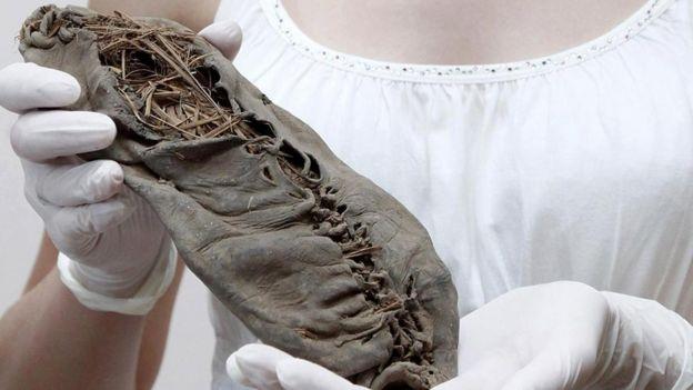 Mocasín de 5.500 años