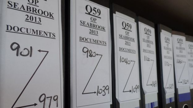 Operation Seabrook folders