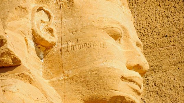 Rostro de Ramses II