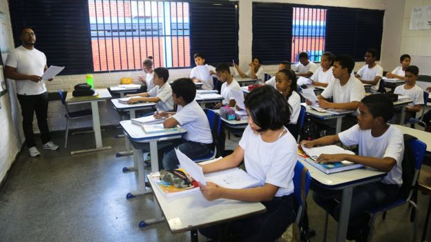 Beyond Education Wars >> How Brazil S Culture Wars Are Being Waged In Classrooms Bbc News