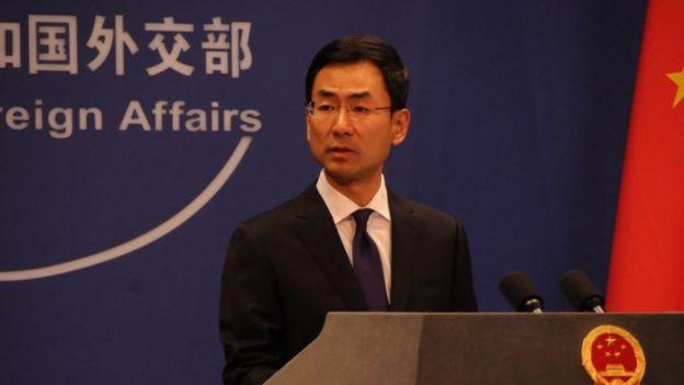 Phát ngôn viên Bộ Ngoại giao Trung Quốc đưa ra tuyên bố trên hôm 31/7
