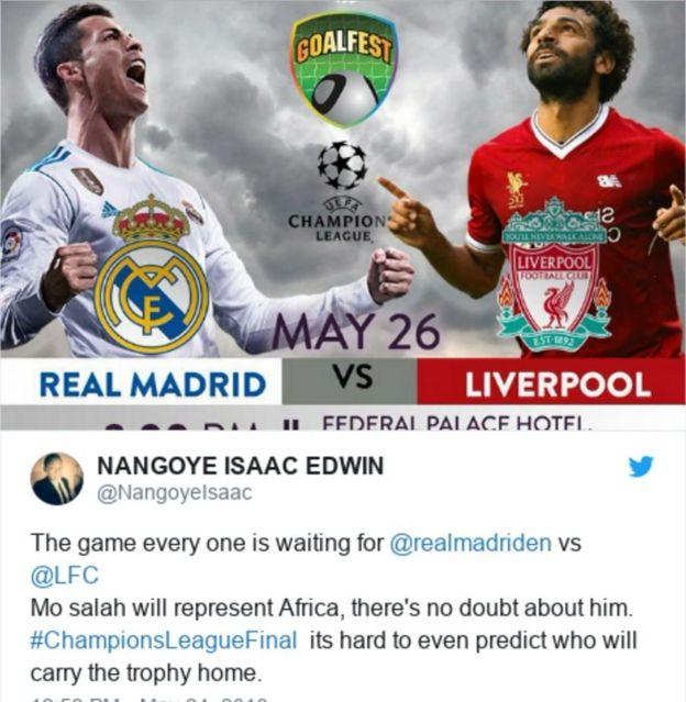 صلاح يجعل عشاق ريال مدريد يشجعون ليفربول