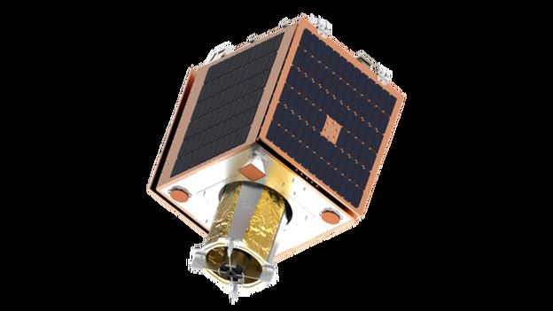 Artwork: Manufacturer SSTL calls it Carbonite, but Earth-i refers to the satellite as VividX2