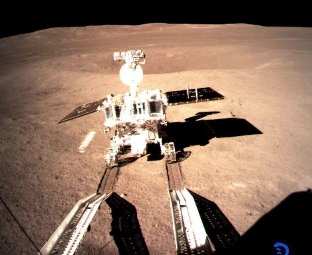 Місяцехід на місяці