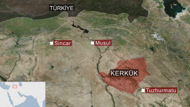 Kerkük operasyonu sonrası peşmerge güçleri 2014 sınırlarına çekildi