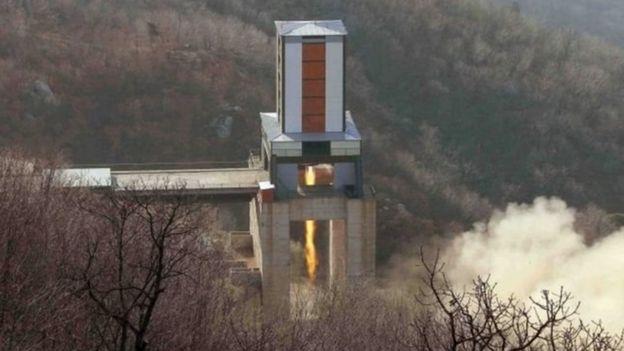Instalación militar en Corea del Norte