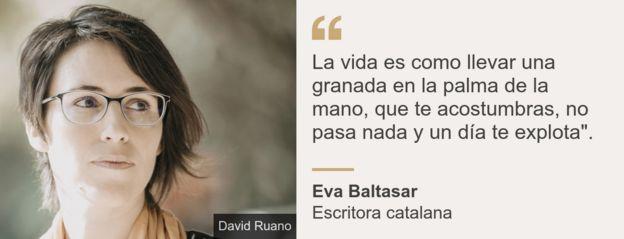 Cita de Eva Baltasar