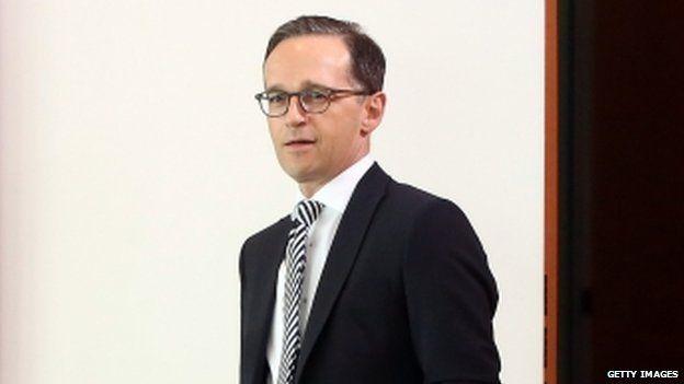 Justice Minister Heiko Maas