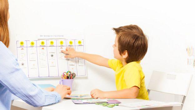 Terapia para criança autismo