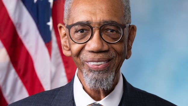 Deputado Bobby Rush, democrata do Estado de Illinois
