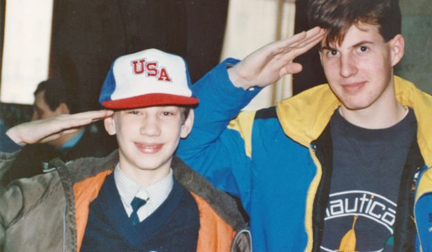Jeff viajó a la URSS con Youth Ambassadors of America en 1988.