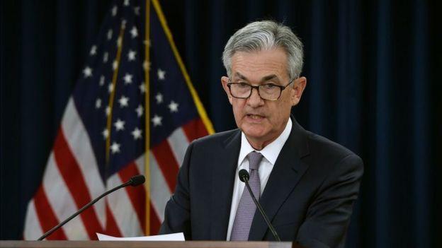 US Fed chairman Jerome Powell