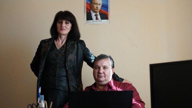 Tatiana and Gennady Shchepalkin
