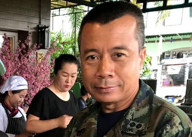 Contra-almirante Arphakorn Yuukongkaew