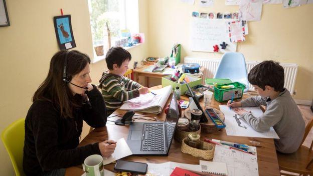удаленная работа с детьми