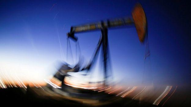 Teksasda neft quyusu
