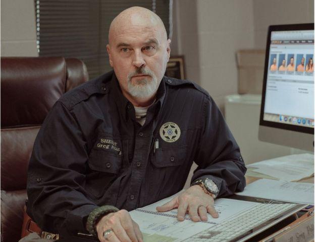 Calhoun County Sheriff Greg Pollan