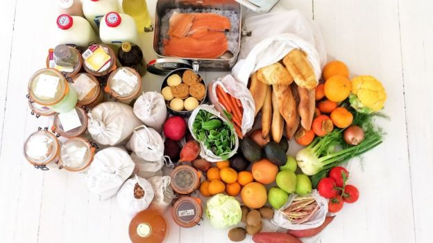 Alimentos comprados por Bea