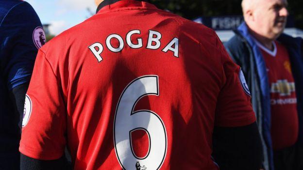 Camiseta de Paul Pogba