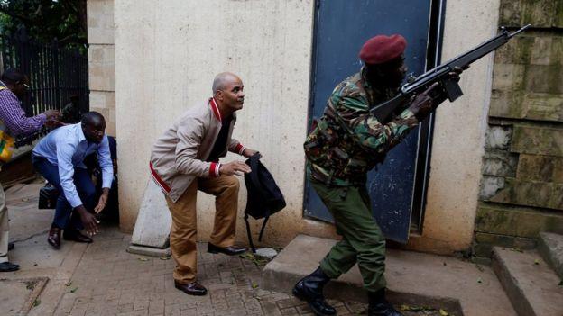 Военные в Кении