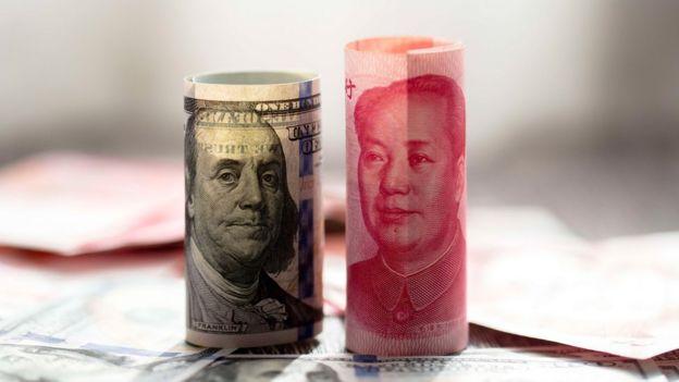 USD and CNY notes