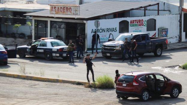 Enfrentamiento en Culiacán, Sinaloa