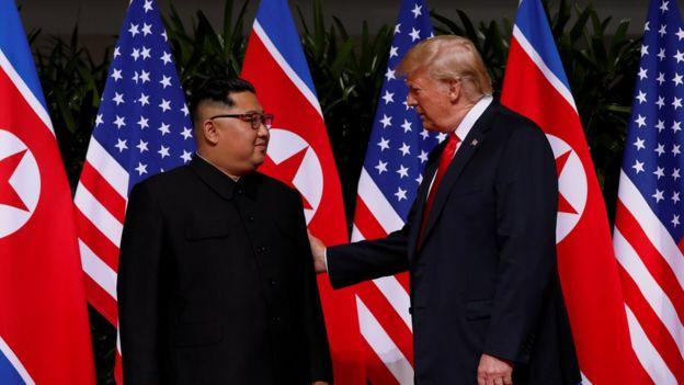 U.S. President Donald Trump and North Korea