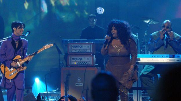 Prince, Chaka Khan, Stevie Wonder