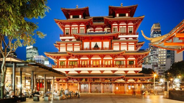 Buddha Tooth Relic Temple Singapur