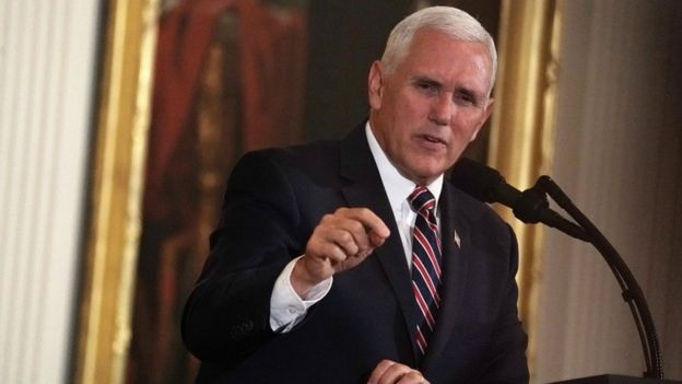 Vice President of the United States, Mike Pence.