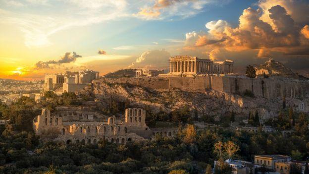 Acrópolis de Grecia.