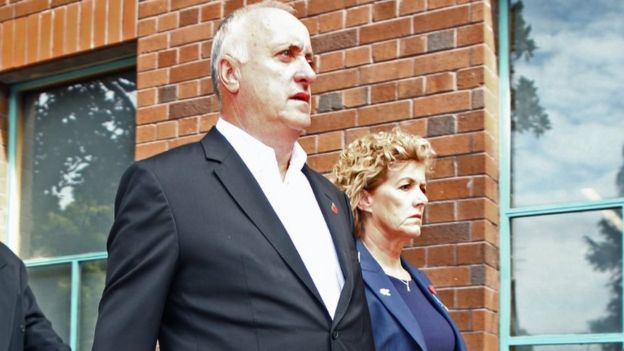 David and Gillian Millane