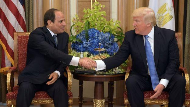 در پی دیدار ترامپ و سیسی، رئیسجمهور مصر، دولت آمریکا تصمیم گرفت تا تحریمهایی را علیه اخوان المسلمین تدارک ببیند