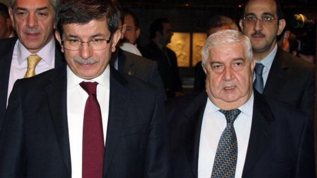 Dönemin Dışişleri Bakanı Ahmet Davutoğlu, Aralık 2009'da Şam'a giderek Suriye Dışişleri Bakanı Velid Muallim'le görüşmüştü