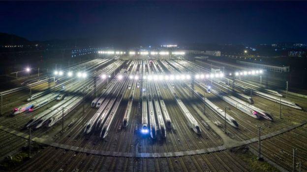 В Китае больше 25 000 км высокоскоростных железных дорог